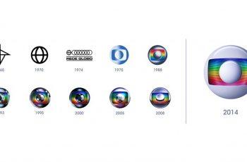 Evolução da marca Globo